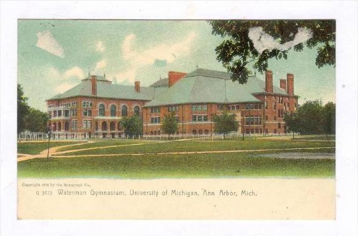 Waterman Gymnasium , University of Michigan, Ann Arbor , Michigan, Pre-1907