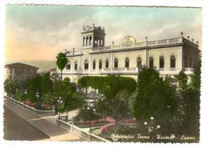 RP; Montecatini Terme , Italy , Kursaal - Casino , 40-50s