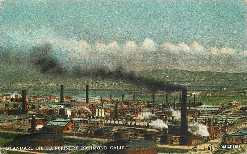 Birdseye C-910 Standard Oil Refinery Richmond California