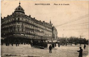 CPA  Montpellier -  Place de la Comédie   (510937)