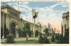 Panama-Pacific International Exposition Expo, San Francisco CA. USA Postcard