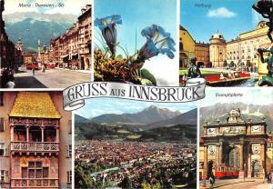 GG9176 gruss aus innsbruck maria theresien str   austria