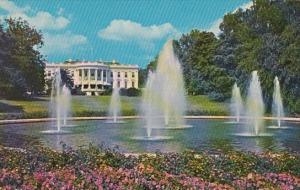 White House Looking South Washington DC