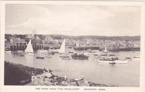 Massachusetts Rockport The Town From Headlands Albertype