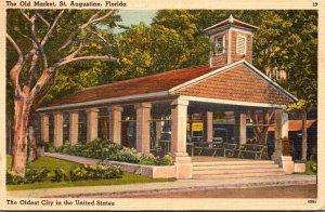 Florida St Augustine The Old Slave Market