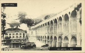 brazil, OS ARCOS, Rio de Janeiro, Capivarol, Tram (1920s)