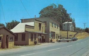 Olema California Post Office Highway One Vintage Postcard K9982