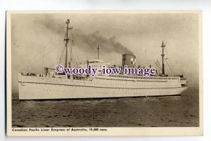 LS0080 - Canadian Pacific Liner - Empress of Australia , built 1924 - postcard