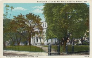 NATCHEZ, Mississippi, 1930s ; Stanton Hall