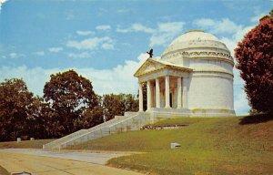 Vicksburg National military Park, Illinois state Memorial Civil War Unused