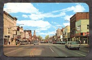 5299 - LA PORTE Indiana 1967 Lincolnway. Stores, Cars