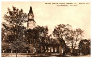 Virginia  Williamsburg , Bruton Parish Church