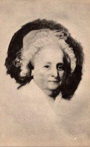 Portrait Of Martha Washington By Gilbert Stuart