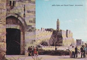 Jerusalem , Jaffa Gate & David Tower , Israel , 50-70s