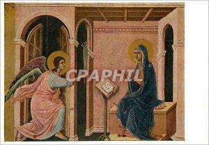 Modern Postcard Maesta di duccio buoninsegna lannunciation of death marries