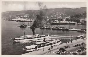 RP: TRIESTE , Italy , 1930-50s ; Porto - Molo Audace