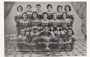RP: REGINA , Saskatchewan , Canada , 1940 ; Female Army&Navy Bombers sports team