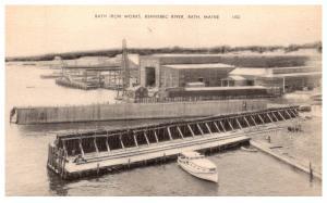 Maine Kennebec River   , Bath Iron Works