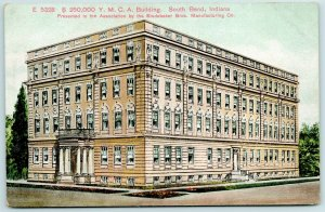 South Bend Indiana~YMCA~Wayne & Main~Presented by Studebaker Bros~Architect~1910