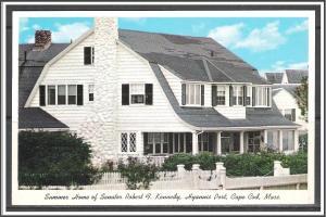 Massachusetts, Hyannisport Robert Kennedy Summer Home - [MA-643]