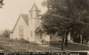 RP: PERU, Nebraska, 1909 ; Baptist Church