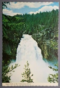 Upper Falls of the Yellowstone River Postcard
