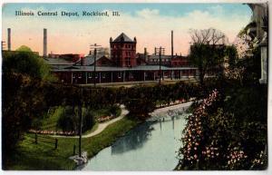 Ill Central Depot, Rockford IL