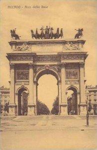 Italy Milano Arco della Pace