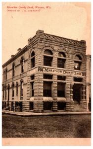 Wisconsin Wausau , Marathon County bank