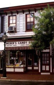 NJ - Bridgeton. Weber's Candy Store