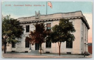 Waterloo Iowa~Federal Government Building~US Post Office~Court House~1914 PC