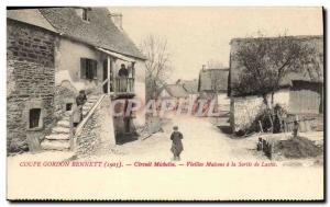 Postcard Old Cars Tour d & # 39Auvergne Gordon Bennett 1905 Michelin Circuit ...
