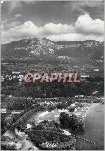 Modern Postcard Aix les Bains (Savoie) View Aerienne Petit Port