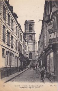ARRAS, Pas de Calais, France; Eglise Saint-Jean-Baptiste, Saint-Jean Baptist ...