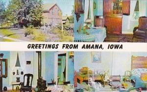 Iowa Amana Greetings From