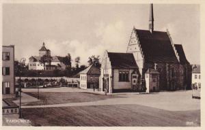 Partial Street Scene, Pardubice, Czech Republic, 1900-1910s
