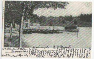 Boat Landing Whalom Park MA 1906