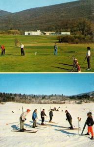 New York Spring Glen Homowack Lodge Skiers and Golfers