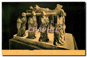 Old Postcard Tomb of Philippe Pot Paris Louvre Museum