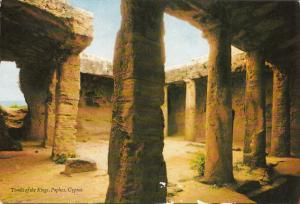 Cyprus tombs of the kings postcard