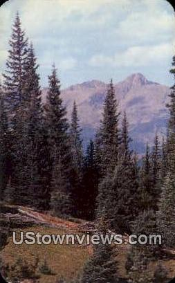 Mount of the Holy Cross, CO Post Card     ;     Mount of the Holy Cross, Colo...