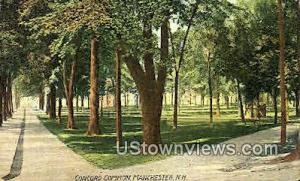 Concord Common Manchester NH 1908