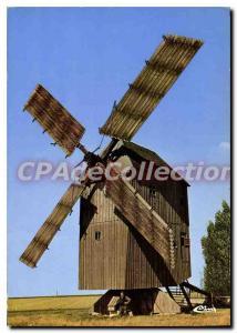 Postcard Modern Ouarville Mill