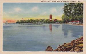 Wisconsin Oshkosh Bathing Beach Lake Winnebago