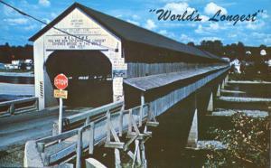 Hartland, New Brunswick, Canada - World's Longest Covered Bridge