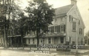 The Indian King Tavern, Real Photo in Haddonfield, New Jersey