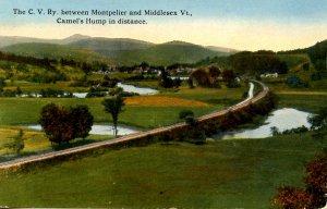 VT - Central Vermont Railway Between Montpelier & Middlesex