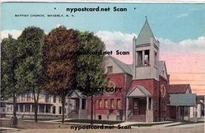 Baptist Church, Waverly NY