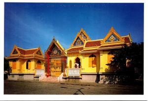 Thailand Bangkok Temple Of Wat Traimitr-vitayaram-viharn Trimitr Road