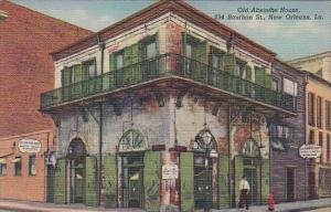Louisiana New Orleans Old Absinthe House 1949 Curteich